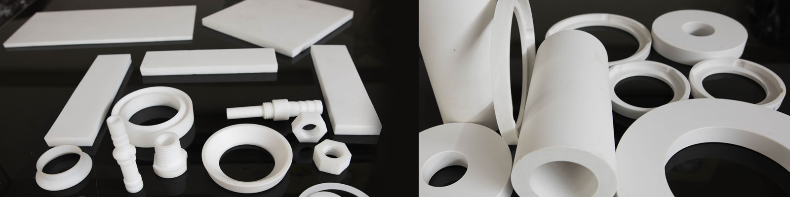 Ptfe products machine and moulded